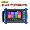 7 ЖК-портативных систем видеонаблюдения для тестирования ПК, Ahd, HD-Tvi, Cvi, Sdi многофункциональные камеры безопасности
