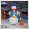 24V bonhomme de neige blanc de l'acrylique DEL pour 2015