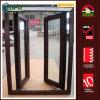 Het Openslaand raam van de dubbele Verglazing met Houten Kleur