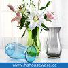 Vaso largo saltato mano di vetro della bocca di colore rotondo del pigmento di arte
