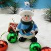 OEM nueva velas de lujo de muñeco de nieve