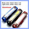 3 свет кабеля велосипеда режима освещения цвета 3 раковины перезаряжаемые