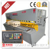 Tagliatrice per lamiere di scorrimento della macchina del metallo idraulico di CNC di QC12k 6*2500