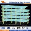 Veloci prefabbricati installano i progetti di costruzione prefabbricati del banco dell'hotel della struttura d'acciaio della costruzione che dissipano il disegno