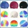 卸し売り熱い販売の防水シリコーンの水泳の帽子