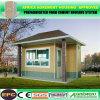 O movimento fácil de Smooking da cabine pré-fabricada de Porta e instala a casa Prefab
