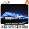 Grande tenda libera impermeabile di evento della portata con il portello di vetro e finestra per una capienza delle 1000 genti