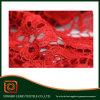 Guarnizione del merletto / Qualità paillettes merletto svizzero del voile Tessuto