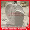Grafsteen van het Graniet van de Engelen van de gravure de Witte