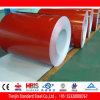Llama de acero revestida PPGI rojo de Ral 3000 del color