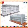 Prateleira de vidro personalizada nova do carrinho cosmético do supermercado (Zhs189)