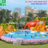 Aufblasbarer Wasser-Park mit Plättchen für Verkauf (DJWPMC001)