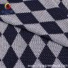 스웨터 직물 (GLLML004)를 위한 폴리에스테 다이아몬드 뜨개질을 하는 직물