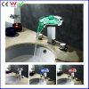 Si raddoppia il rubinetto d'ottone del bacino della cascata montato piattaforma LED della manopola (FD15108F)