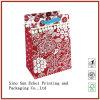 L'impression personnalisé imprimé papier Kraft emballage commercial transporteur des sacs en papier de cadeau pour l'emballage avec des poignées