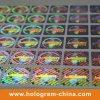 Anti-vervalst 3D Holografische Etiket van de Veiligheid