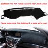 Tampa do dashboard Dashmat Dash Mat tampa da placa do painel de instrumentos para o Honda Accord 9 2013-2017