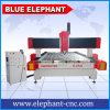 Router blu di CNC della pietra dell'elefante, macchina per incidere della lettera della pietra della scultura 3D per la pietra tombale di marmo della lapide del granito