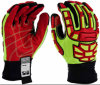 Mechaniker geschnittene beständige Sicherheits-Handschuhe mit TPR