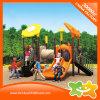 Diapositiva plástica de los juguetes del pequeño equipo al aire libre del patio para los cabritos
