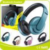 Auricular estéreo del auricular del receptor de cabeza sin hilos plegable de Bluetooth
