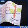 Papel de empapelar ambiental solvente de la tela del brillo de la impresión de la inyección de tinta de Eco, papel pintado del brillo para hacer publicidad/la decoración casera