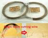 China-Fabrik-Zubehör-Felsen-Wolle-Ausschnitt-Draht-und Glas-Schaumgummi-Ausschnitt-Draht und Diamant-Ausschnitt-Draht
