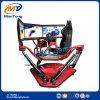 El competir con conduciendo el simulador de la realidad virtual con 3 pantallas máquina de juego de la libertad de 6 grados