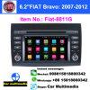 FIAT-8811G, 2 doble DIN Auto reproductor DVD reproductor multimedia GPS Android antirreflectante coche Play Radio Conexión WiFi GPS Video Naviradio estéreo para coche