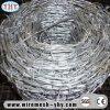 Preiswerter doppelter Torsion-Stahl galvanisierter Stacheldraht-Preis pro Rolle