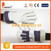 Перчатки DLP535 работы Ce перчатки безопасности кожи с сохранённым природным лицом свиньи