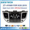 Radio de coche del estruendo 2 DVD para Hyundai Tucson IX35 2015 2016