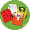 設計刺繍か印刷のロゴの綿またはポリエステル生地のコマーシャルのTシャツ