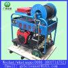 Motor de gasolina más limpia pipa de alcantarilla de limpieza de alta presión