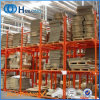 Novo design de armazenamento de mercadorias de papelão Rack de aço empilháveis