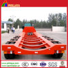 4axles Low Bed Trailer für Tank Body Transport