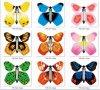 Hecho a mano mágica folleto de papel de la mariposa Decoración Craft (SR006)