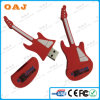 Guitar Shape PVC USB Stick, OEM Guitar USB Stick, Hot Sale PVC USB Stick