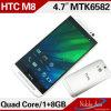 Android 4.2. cuatro núcleos Mtk6582, 3G, M8 teléfono móvil