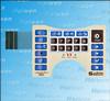 Tastiera della membrana di Haiwen, interruttore del pannello della membrana, tasti della cupola del metallo