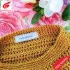 Etiquette tissée personnalisé de haute qualité pour les vêtements d'étiquette de tissu