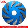 Металлические Бонд шлифовального круга для шлифовки бетонный пол