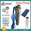 do motor sem escova profundo da C.C. de 120m bomba solar para a bomba de água solar submergível do uso e da irrigação do agregado familiar usada bem em África do Sul