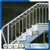 Pasamano de interior decorativo de la escalera/carril de interior de la escalera/diseños de cristal del carril