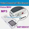 CameraのデジタルVoice Recorder
