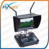 Fpv 5.8g récepteur intégré de 7 pouces moniteur LCD 1024*600