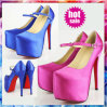 2014 forma High Heel Shoes para Lady nenhum MOQ