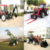 40-65HP 4X4 Farm Compact Tractors with Wood Chipper