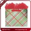 Sacos de compra do presente dos sacos de papel do presente do mantimento com laminação