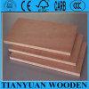 E2 el pegamento Okoume hizo frente a la madera contrachapada de la fábrica de Linyi